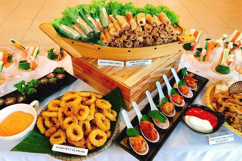 Nấu tiệc tại nhà với thực đơn tiệc buffet siêu hấp dẫn