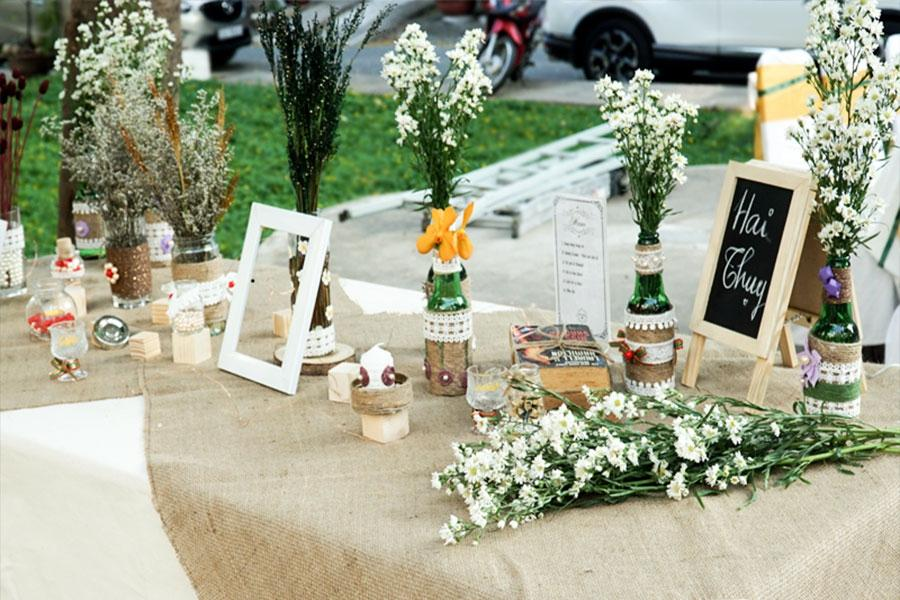 Chỉ với 5 phút để sở hữu một hôn lễ ấn tượng với dịch vụ đặt tiệc cướitại nhà