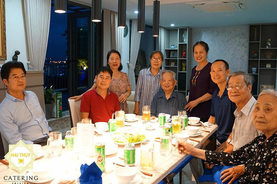Những hình thức đặt tiệc gia đình tại Hai Thụy Catering